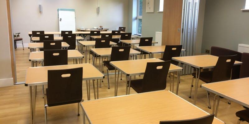 Meeting room - Exam set up